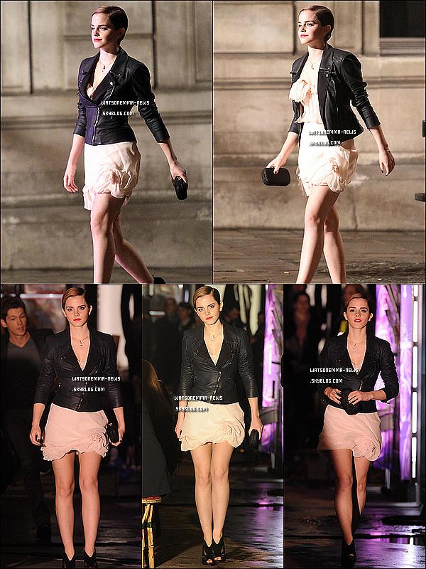 . 14/03/11 : Emma  est en ce moment même à Paris sur le shooting de Lancôme. Partie 2  .