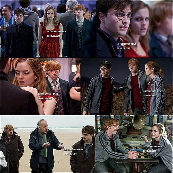 .  Nouvelles photos d'Harry Potter et les Reliques de la Mort - Partie 1  .