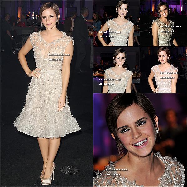 . Notre sublime Emma Watson à l'After Party de la première mondiale des Reliques de la Mort a Londres !.