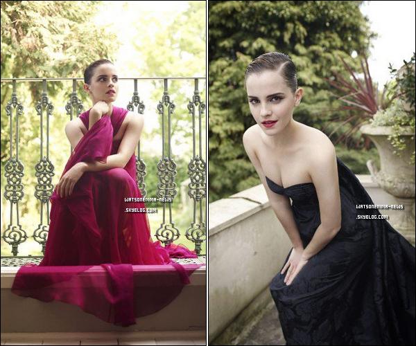 . Deux nouvelles photos d'Emma pour le 'Harper's Bazaar' et deux autres par Mariano Vivanco sont sorties ! .