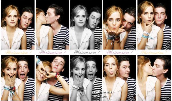 .  08/07/11 : Emma Watson arrivant à l'aéroport JFK a New York pour la promotion de Deathly Hallows ! + Voici des photos personnelles d'Emma et de son Ex Boyfriend au festival Glastonbury 2010 !   .
