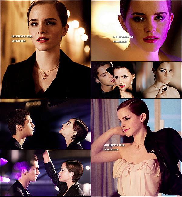. LANCÔME | Nouvelles images promotionnelles d'Emma Watson ! .