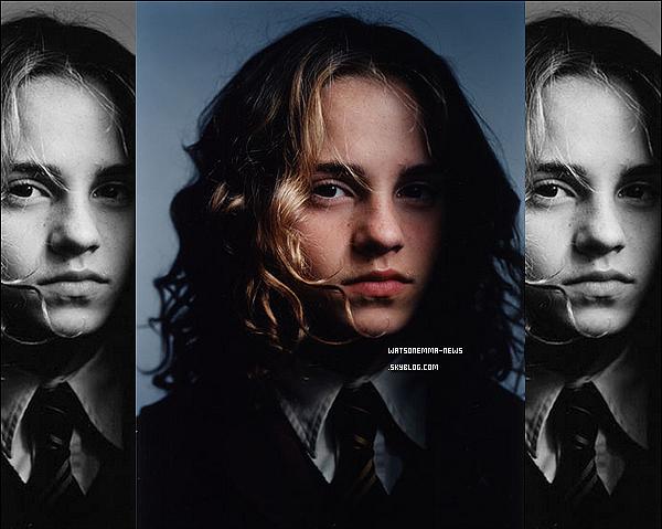 . Nouvelle photo d'Emma lors du photoshoot pour le fim Harry Potter et le Prisonnier d'Askaban ! + Une nouvelle photo inédite d'Emma tirée du magazine Glamour. Un petit coté rock, j'adore ! .