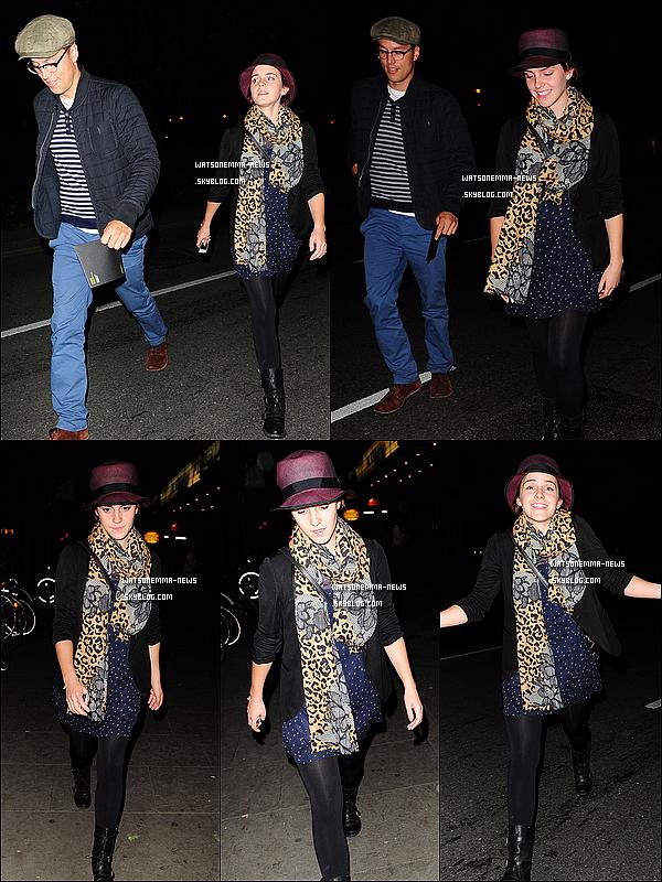 . 30/08/11 : Emma est à Londres ! Elle a été vue sortant du Shepherd's Bush Empire avec un ami. .