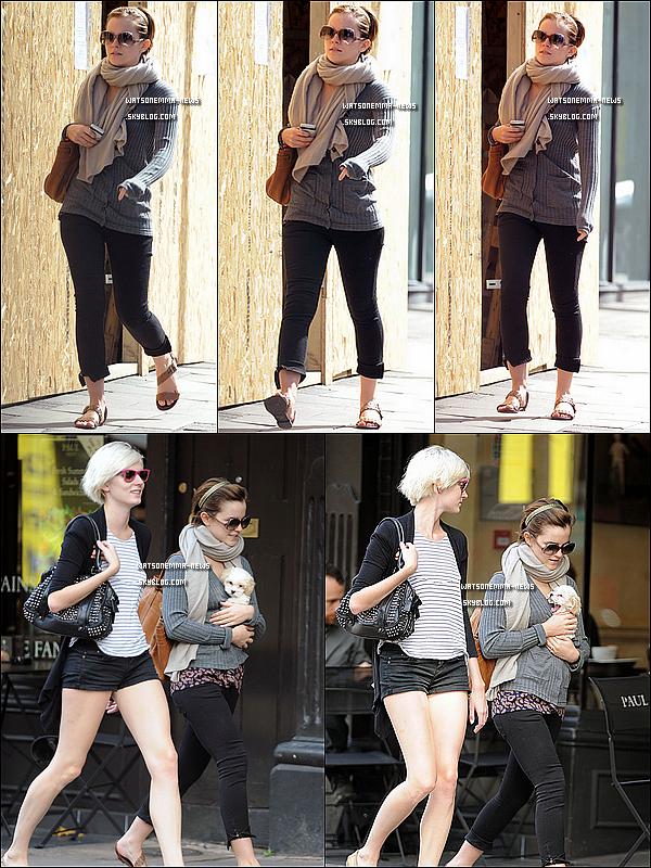 . 05/09/11 : Emma était de sortie avec Sophie et le chien de celle-ci. Elles étaient dans Londres ! .