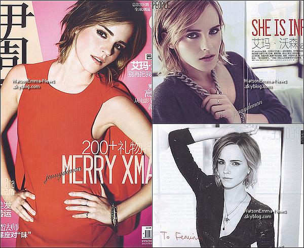 . Découvrez  la toute première, photo du film 'The Bling Ring', d'Emma Watson! Après une dizaine de jours, Emma ne sort pas. En tout cas nous apprenons grâce à ce scan que le film sort en juin! .