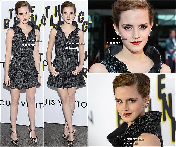 . 05 juin : Emma était présente à la première de The Bling Ring, cette fois à Los Angeles! J'aime! Elle est superbe, tout est parfait pour moi! + Elle aurait signé de nombreux autographes à cette soirée. .