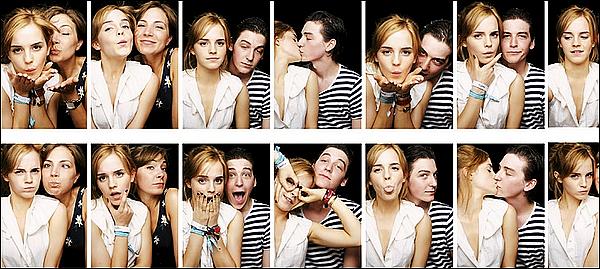 .  ...........ARTICLE FLASH-BACK ! .  26 juin 2010 : Emma était avec son petit-ami, George Graig, au festival de musique Glastonbury ! J'adore son look ! Son boyfriend du moment avait un style rock, Emma a donc eu son influence, j'imagine. Mais j'aime, c'est sympa ! .