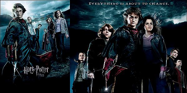 . .............• Harry Potter et la Coupe de Feu •..................ARTICLE COMPLÉMENTAIRE !   .  Synopsis : Cette année voit renaître le légendaire Tournoi des Trois Sorciers à Poudlard, concours de magie opposant trois écoles de sorcellerie. La Coupe de Feu choisit les trois sorciers qu'elle juge digne de participer parmi des candidats âgés au minimum de dix-sept ans. Harry Potter, qui n'a pourtant pas l'âge requis et pas déposé sa candidature, est mystérieusement choisi pour devenir le quatrième champion. Harry va devoir affronter de les trois tâches, un dragon, des créatures aquatiques et un labyrinthe ensorcelé, et faire face à une épreuve imprévue : le retour de Lord Voldemort.    .
