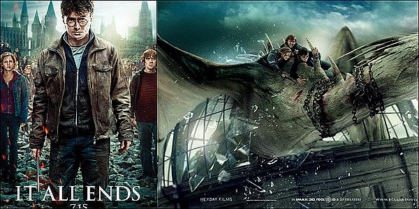 . • Harry Potter et les Reliques de la Mort - PARTIE 2 •....ARTICLE COMPLÉMENTAIRE !   .  Synopsis : Dans la 2e Partie de cet épisode final, le combat entre les puissances du bien et du mal de l'univers des sorciers se transforme en guerre sans merci. Les enjeux n'ont jamais été si considérables et personne n'est en sécurité. Mais c'est Harry Potter qui peut être appelé pour l'ultime sacrifice alors que se rapproche l'ultime épreuve de force avec Voldemort.     .