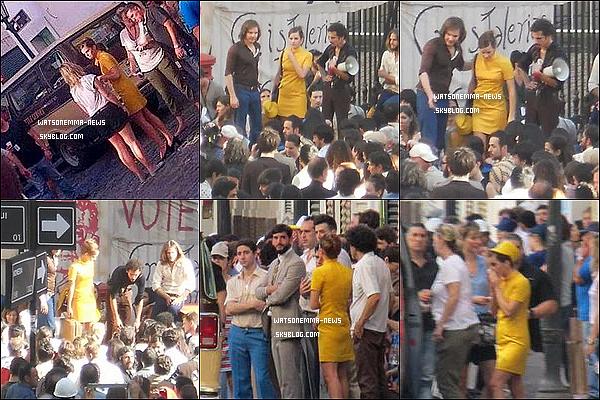. 06/12 : Emma sur le tournage de Colonia, en Argentine ! Le tournage se finit le 17/12. Elle a l'air de s'amuser ! Son personnage s''appellera Léna + La tenue qu'elle porte est l'uniforme des hôtesses de l'air, le métier de Léna !  .