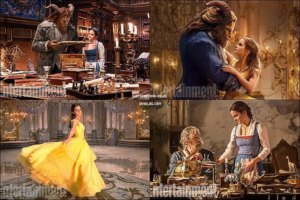 . Les toutes premières images du film d'Emma La Belle et la Bête viennent juste d'être dévoilés !. J'ai hâte d'avoir une première bande annonce pour qu'on puisse voir ce que cela donne. Je suis sure qu'Emma sera une parfaite Belle ! .