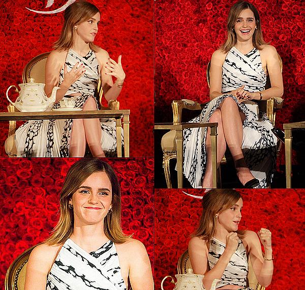 . 05 mars : Une nouvelle conférence de presse a eu lieu et cette fois-ci à Los Angeles ! Comme toujours, Emma est magnifique. Il n'y a eu aucun fashion faux pas depuis le début de la promotion du film !  .