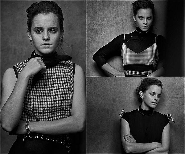 . Emma est en couverture d'un nouveau magazine, et a fait un nouveau photoshoot à cette occasion ! .