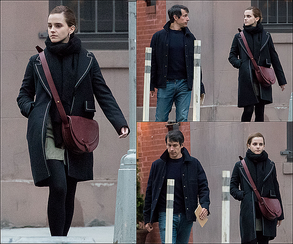 . 25 mai : Emma a été vue marchant dans New York avec son copain William (ou encore Mack) ! Ça fait plaisir d'avoir de nouveau des nouvelles d'elle, surtout avec son peitt ami. C'est sympa de la voir aussi heureuse.  .