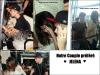Jeudi 21 Avril : Selena arrivant avec Justin Bieber à l'aéroport de Kuala Lumpur en Malaisie.