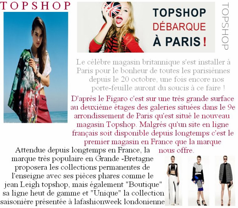 Article n°21: Une session shopping !