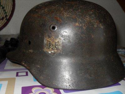 Coque de casque modèle 40