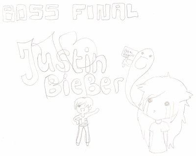 un petit strip sur Justin bieber.... buhbuhbuh