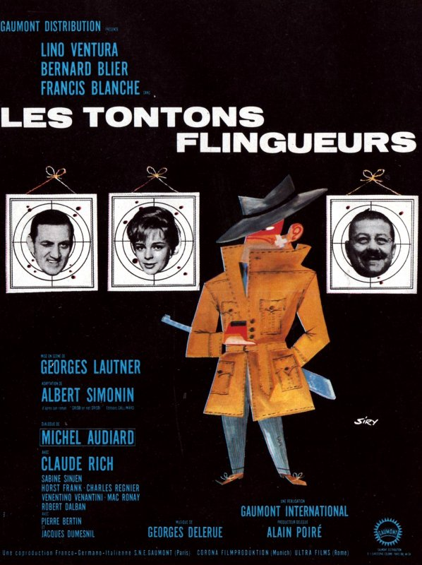 les tontons flingueurs. Black Bedroom Furniture Sets. Home Design Ideas