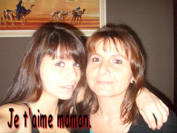 Je t'aime maman <33