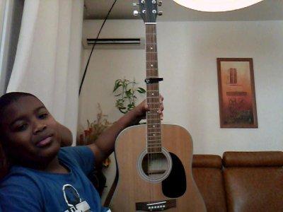 moi et ma sublime guitare