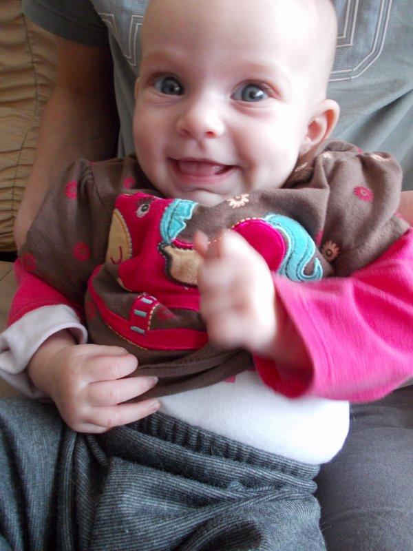 Mon amour de petite nièce.