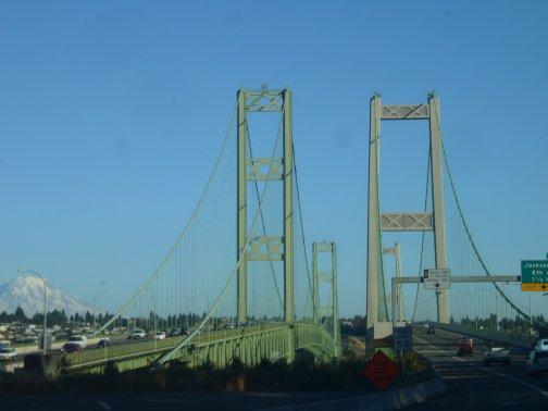 Arrivée à Tacoma dernière Halte avant Seattle