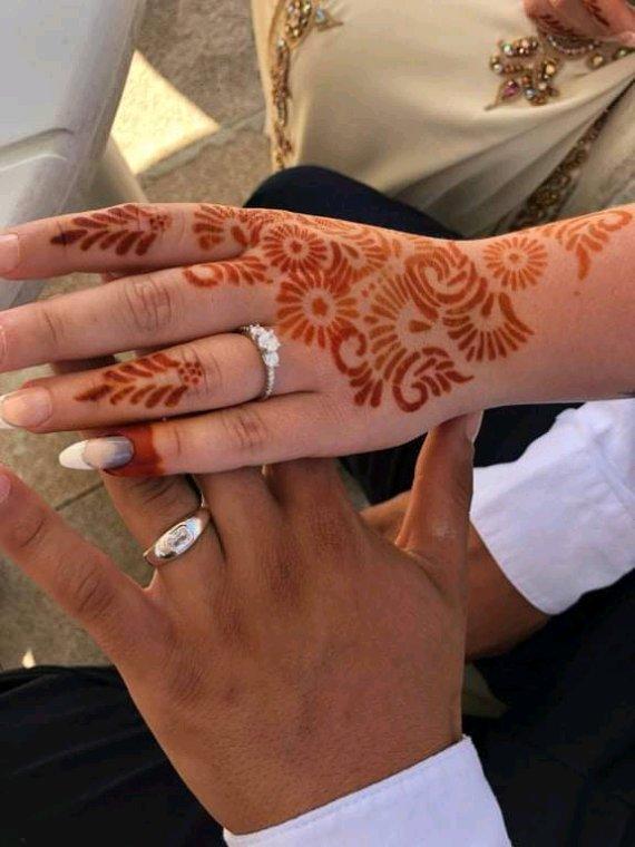 Mariage musulman de ma fille le weekend dernier et voilà comment j étais maquillée et coiffée