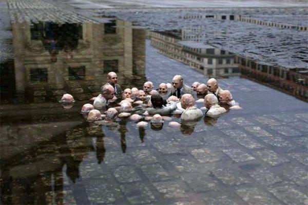 """""""Les politiciens qui discutent du réchauffement climatique"""""""