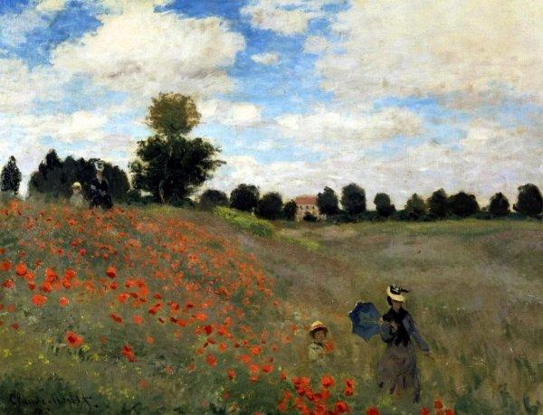 Monet. Les coquelicots