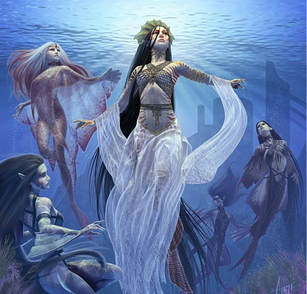 Rân déesse des océan la ravisseuse