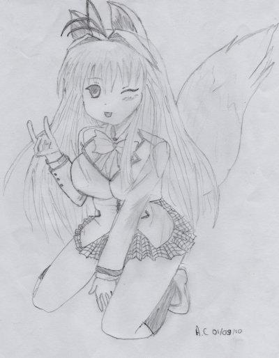 Mon new dessin <3