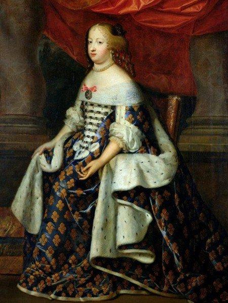 Marie-Thérèse d'Autriche, infante d'Espagne et Reine de France...