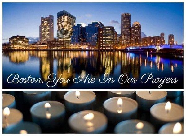 Priez pour. Boston
