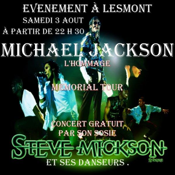 Evenement à Lesmont
