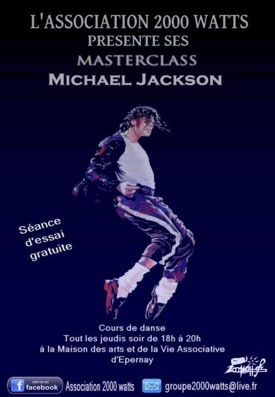 Masters Classe Michael Jackson Epernay 51 / 2014-2015