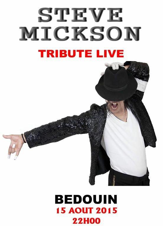 Soirée des sosies avec un concert hommage à Michael Jackson le 15 Août à Bedoin
