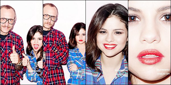. Nouveau photoshoot pour TERRY RICHARDSON 2013.