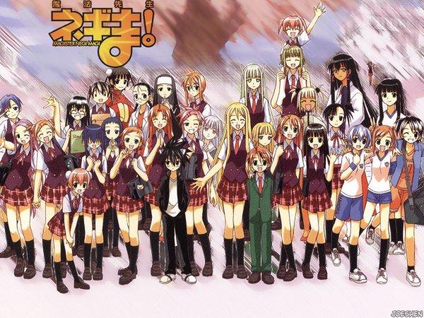 Ma première fic c'est la suite du manga negima chapitre 1
