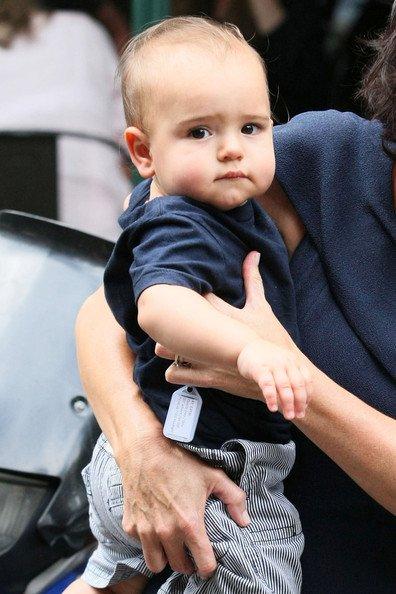 Miranda Kerr habille son fils comme Orlando Bloom !