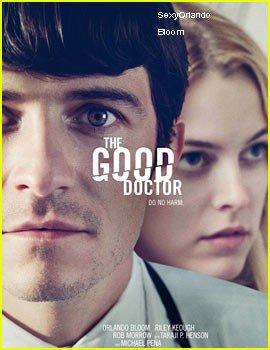 Orlando Bloom & Riley Keough: 'Good Doctor' Poster & Trailer!