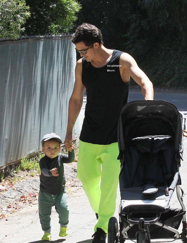 Orlando Bloom & Flynn: Fun Fête des Pères!