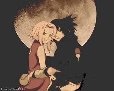 Roméo et Juliette où plutôt Sasuke et Sakura.