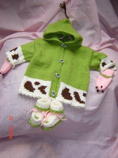manteau vache de mes petites princesses.( n'est pas a vendre)