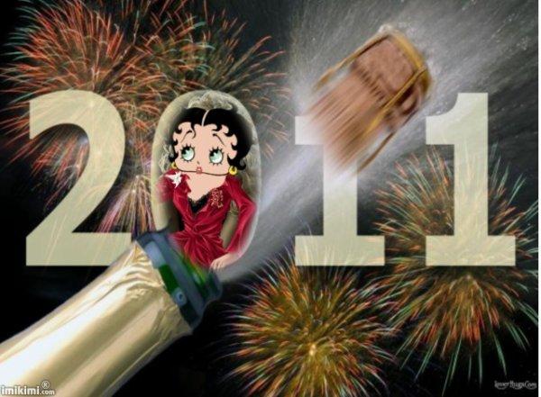 je vous souhaite une bonne nuit et une bonne année