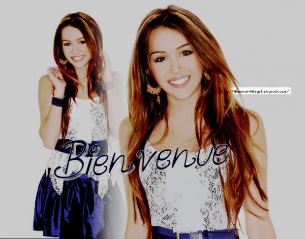 Bienvenue Sur Glamour-Mileyx3
