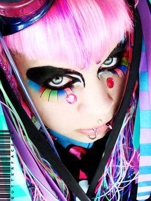 industriel lolita/visual kei