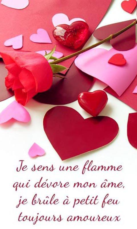 sensation d'amour