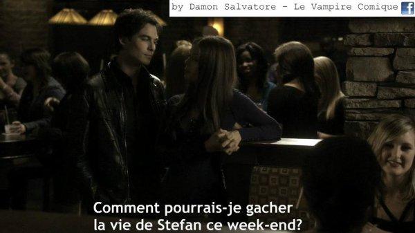 Damon salvatore le vampire comique (15)
